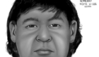 2D reconstruction, 2011. Exhumed remains case from Alaska. It is believed this victim was buried under the wrong name.