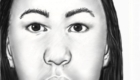 2D reconstruction 2011. Mixed race female homicide victim. Shows some Asian ancestry, some Caucasian, possibly Native American.