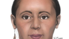 2D reconstruction. Female killed in 1991 in Cowlitz County. Was an unidentified passenger in a semi truck that crashed and caught on fire.