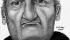 2D reconstruction King Co. WA.  Elderly homeless male 2010.